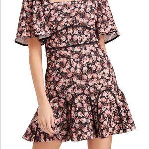 Keepsake Floral Mini Dress
